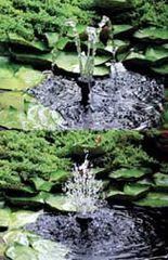 Beckett Flower and 3-Tier Fountain Heads