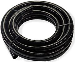 Black Flexible PVC Tubing ROLLS