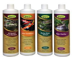 EasyPro WTP4 All-In-One Package – Includes 16 oz Clarifier; All Season Bacteria; Liquid