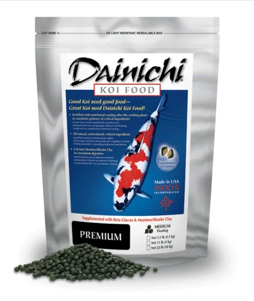 Dainichi Premium Koi Food Large Pellets