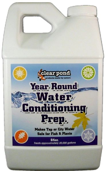 Clear Pond Year Round Water Conditioning & Prep 1/2 Gallon