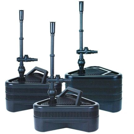 Lifegard Aquatics Uno, Duo, Trio® Pond Pump/Filter Kits