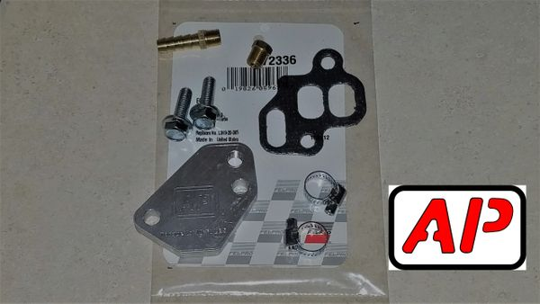 AP - Primary EGR DELETE KIT - MAZDASPEED 3 - 6 & Mazda CX-7 - BASIC EGR DELETE
