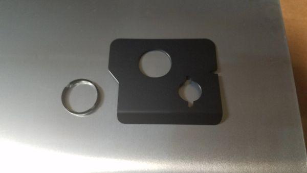 Power Steering Reservoir Cover Kit - Mazdaspeed 3 07-09 Gen 1 - Raw Aluminum