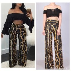 """The """"Off the Chain"""" Palazzo Pants"""