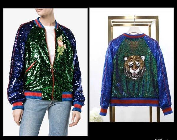 Sequin Tiger Jacket