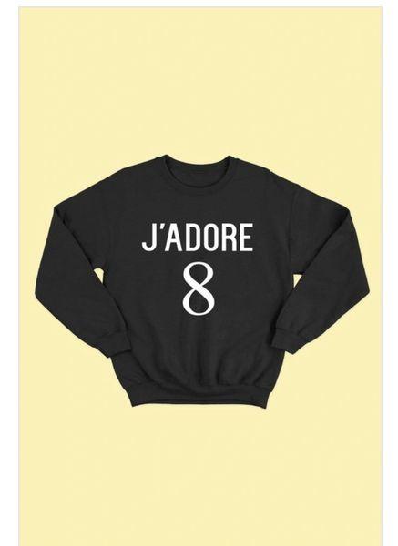 J'ADORE 8 Sweatshirt