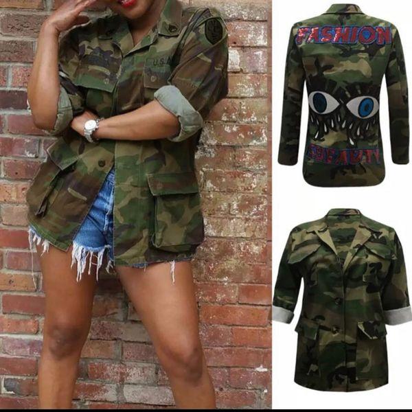 Fashion is Beauty Army Jacket