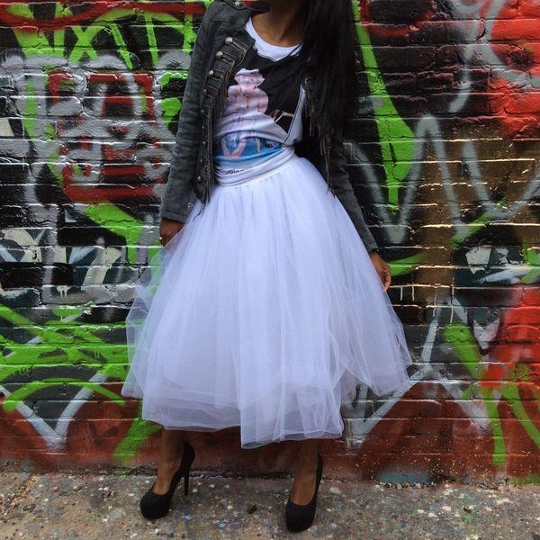 Tulle Flare Skirt