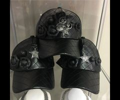 Chanel Leather Hat