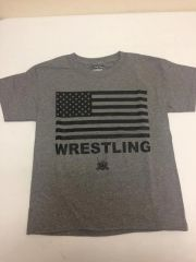 American Flag Wrestling Shirt