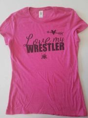 Love My Wrestler Women's Shirt