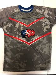Digi Camo USA Buffalo Dri-Fit Tee