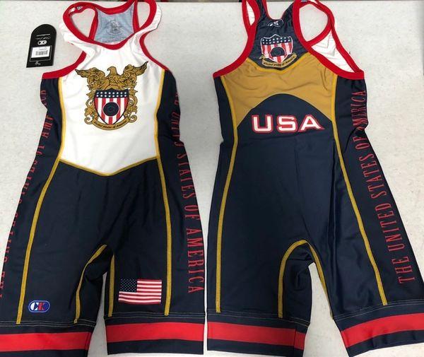 USA Shield Singlet