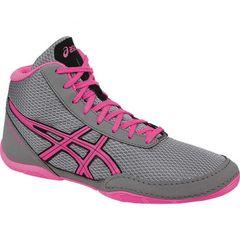 Asics Matflex 5 - Aluminum/Hot Pink (Kids)