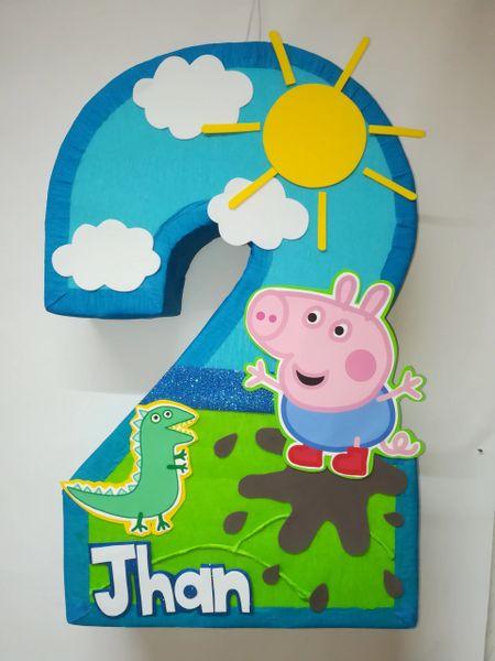 George Pinata George Peppa Pig Pinata Aldi My Shop Party Supplies