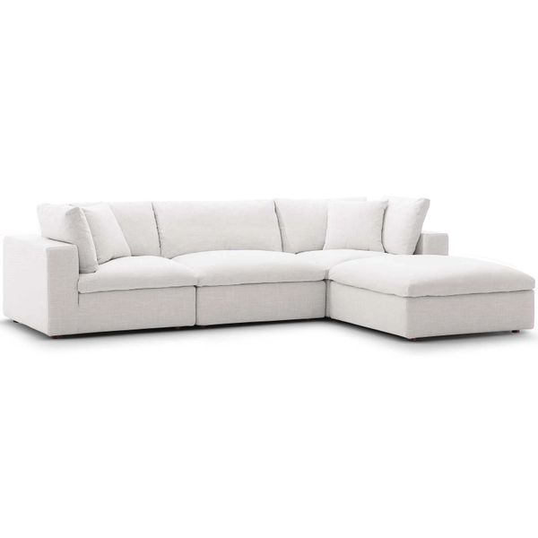 MD33560002 Beige 4 Pieces Sectional