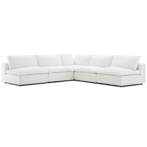 MD33600003 5 Piece Sectional - White