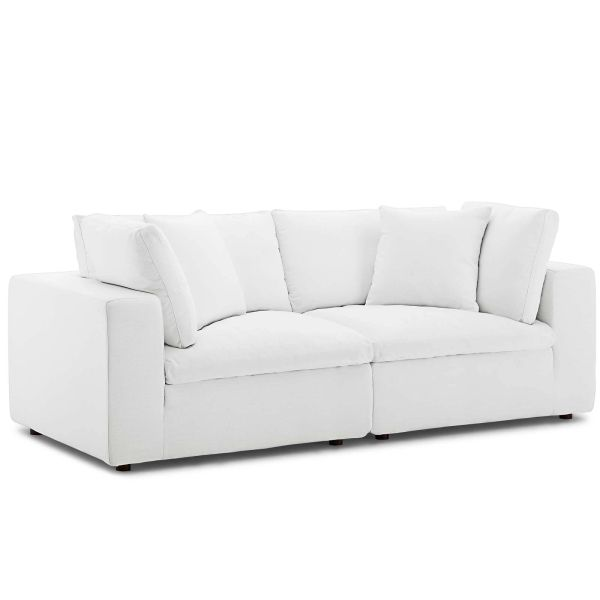 MD3355400008 2 Piece Sectional White