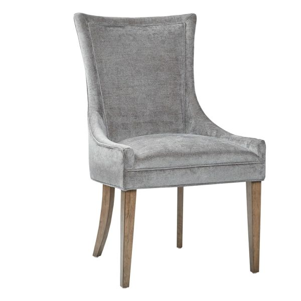OMP10801560008 Dining Side Chair (set of 2) Dark gray