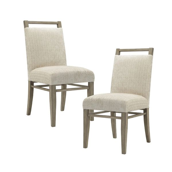 OMP108091100014 Dining Chair Set of 2 cream