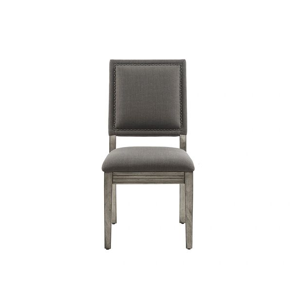 OMP108087200022 Dining Chair(set of 2) Charcoal/Grey