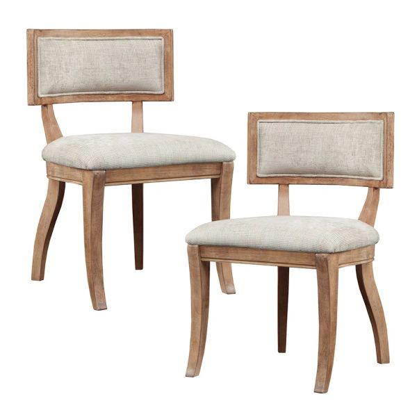 OMP100004200026 Dining Chair (Set of 2 ) Beige/Light Natural