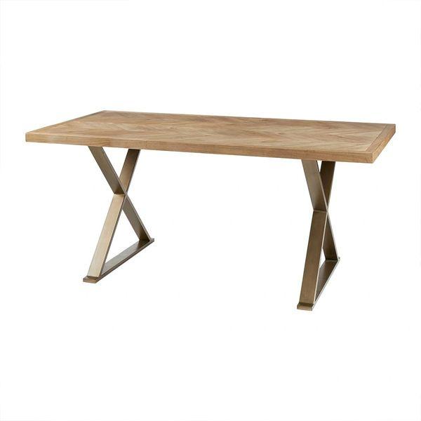 OMP1212072324 Dining table /Chevron Pattern