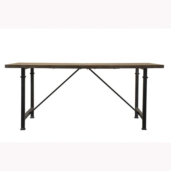 OMP170183256 Dining Table with Metal Legs