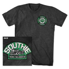 Southie Old Irish Fire Truck T-shirt