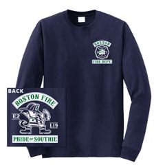 Boston Fire Fightin' Irish Long Sleeve Tee