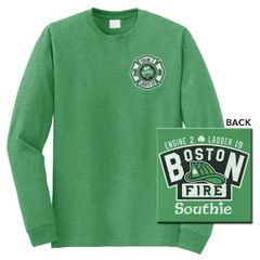Boston Fire St. Patty's Day Long Sleeve Tee