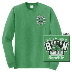 Boston Fire St. Patty's Day Long Sleeve Tee