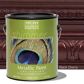Metallic Paint - Black Cherry Gallon