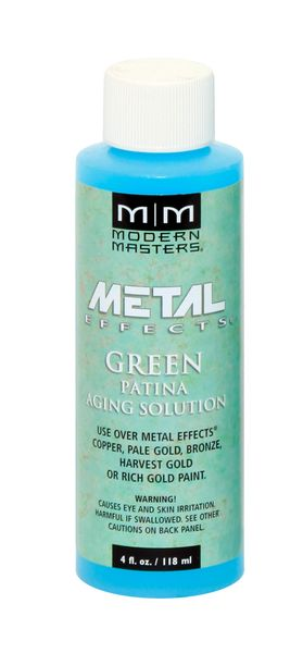 Metal Effects - Green Patina Aging Solution 04 oz