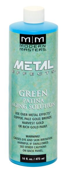 Metal Effects - Green Patina Aging Solution 16 oz