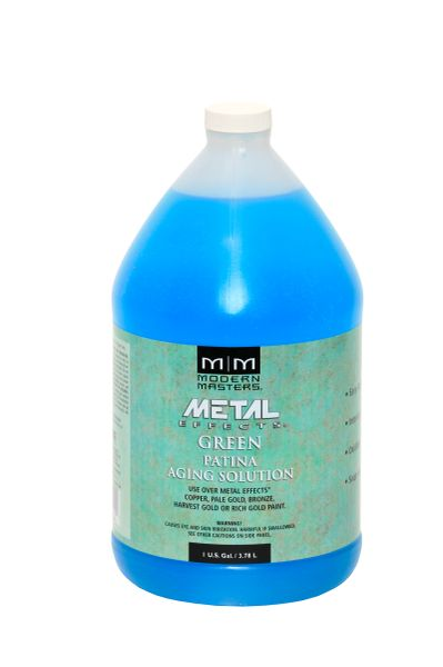 Metal Effects - Green Patina Aging Solution Gallon