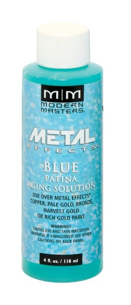 Metal Effects - Blue Patina Aging Solution 04 oz