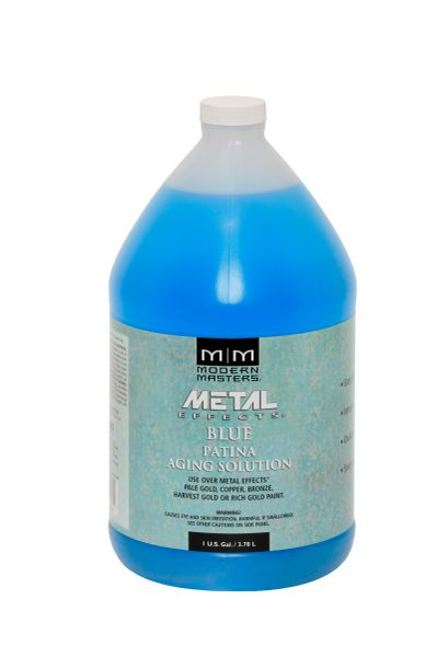 Metal Effects - Blue Patina Aging Solution Gallon