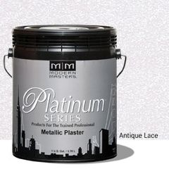 Platinum Series Metallic Plaster - Antique Lace Gallon