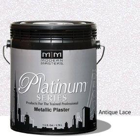 Platinum Series Metallic Plaster - Antique Lace Gallon