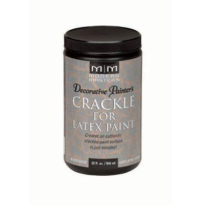 Decorative Painter's Crackle for Latex Paint - 32 oz