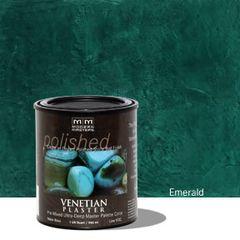 Venetian Plaster Pre-Mixed Master Palette - Emerald 32 oz