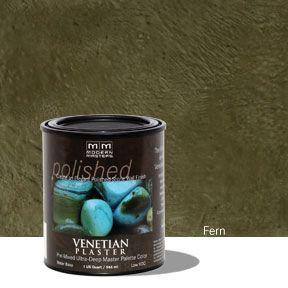 Venetian Plaster Pre-Mixed Master Palette - Fern 32 oz