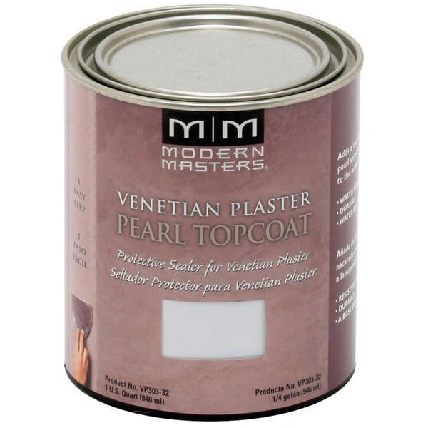 Venetian Plaster Pearl Topcoat - 32 oz