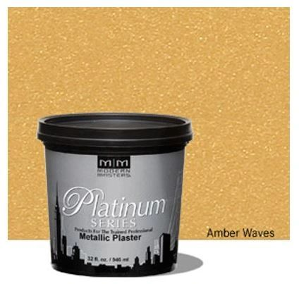 Platinum Series Metallic Plaster - Amber Waves 32oz