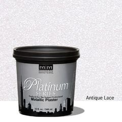 Platinum Series Metallic Plaster - Antique Lace 32 oz