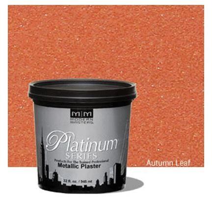 Platinum Series Metallic Plaster - Autumn Leaf 32 oz