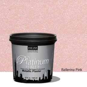 Platinum Series Metallic Plaster - Ballerina Pink 32 oz