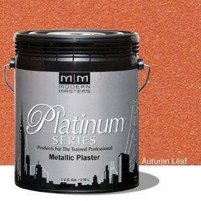 Platinum Series Metallic Plaster - Autumn Leaf Gallon